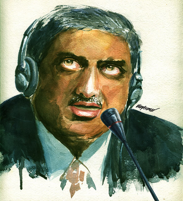 The Speaker, illustrated by Vijaykumar Kakade